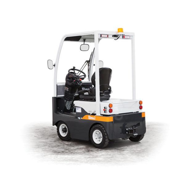 TE80 trattore elettrico a 4 ruote