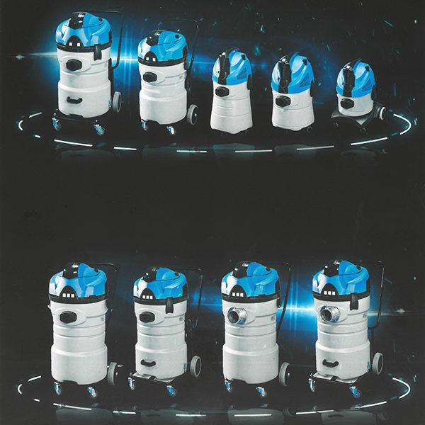 Aspirapolvere industriale serie K plastica