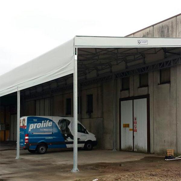 tettoia industriale