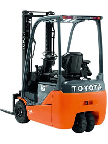 muletto elettrico Toyota