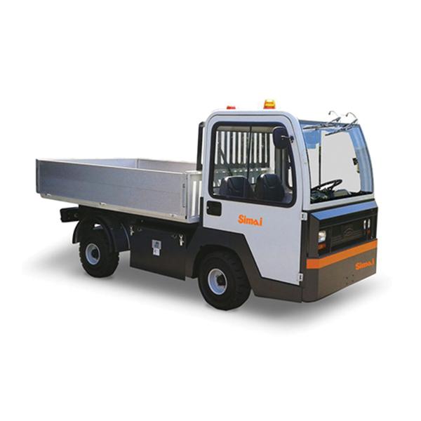 trattori elettrici a pianali pe30