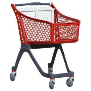 carrello spesa in plastica polycart p100