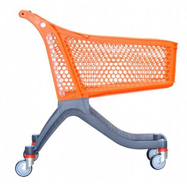 carrello spesa in plastica polycart p130