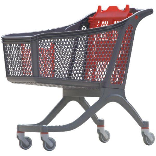 carrello spesa in plastica polycart p175