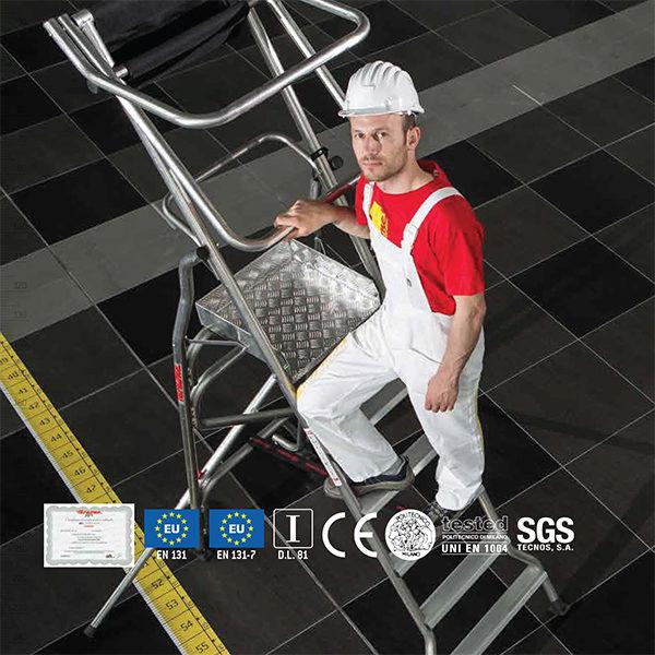 scala alluminio professionale faraone