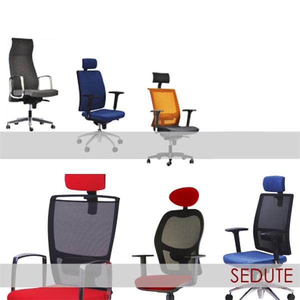 Sedie da ufficio arredo e mobili ufficio vendita for Vendita online sedie ufficio