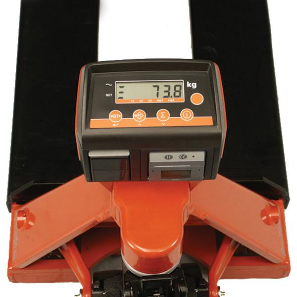 sistema pesatura transpallet manuale toyota bt lifter