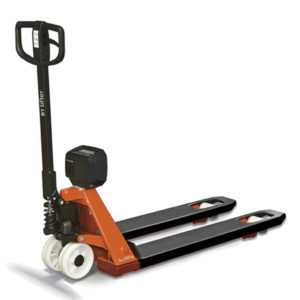 transpallet manuale toyota bt lifter sistema pesatura carico