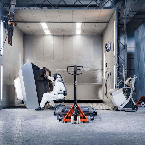 transpallet manuale toyota bt lifter standard industria